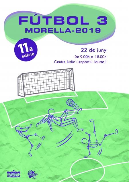 11a edició del campionat de Futbol 3 de Morella.
