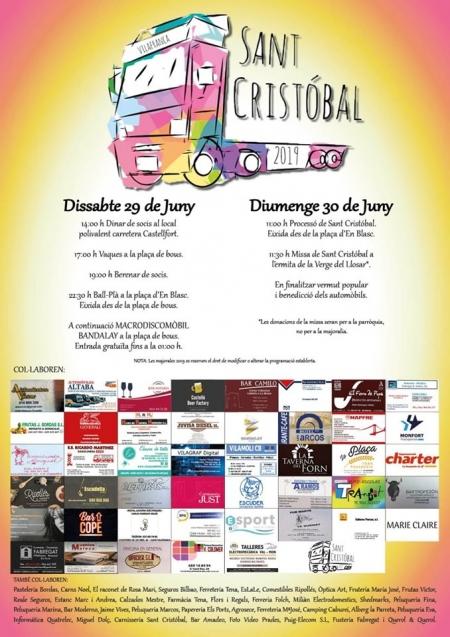 Fiestas de San Cristóbal 2019.