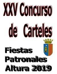 XXV CONCURS DE CARTELLS DE LES FESTES PATRONALS D'ALTURA