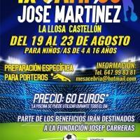 IX Campus de Fútbol José Martínez en La Llosa