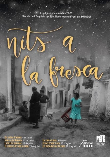 """""""Nits a la fresca"""" los jueves de julio y agosto en Borriol"""