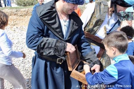 GYMKANA EN FAMILIA: Invasión pirata en Capicorb, Alcalà de Xivert.