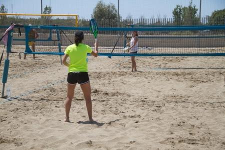 Tennis Platja Benicàssim - Circuit Diputació de Castelló de Tennis Platja.