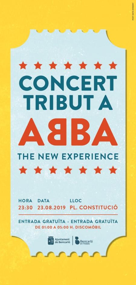 Concierto tributo ABBA, Benicarló.