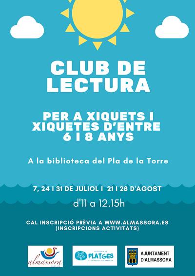Club de lectura infantil, Almassora.