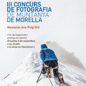 Exposició, del III concurs de fotografia de muntanya - Morella