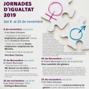 """Jornadas por la igualdad: Teatro """"Me quiere no me hiere"""" - Morella"""