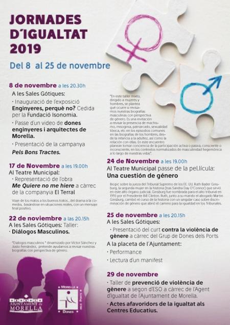 Dia Internacional de l'Eliminació de la Violència contra la Dona - Morella