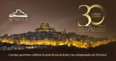 Vota per Morella en el 30 aniversari de Ferrero Rocher - Morella