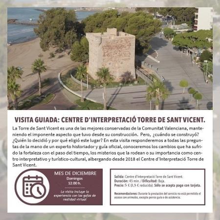 Centro de interpretación Torre de Sant Vicent + realidad virtual - Benicàssim