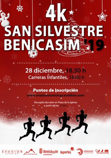 Carrera 4K Sant Silvestre 2019 - Benicàssim