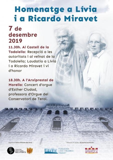 Concerte Homenatge a Lívia i a Ricardo Miravet - Morella