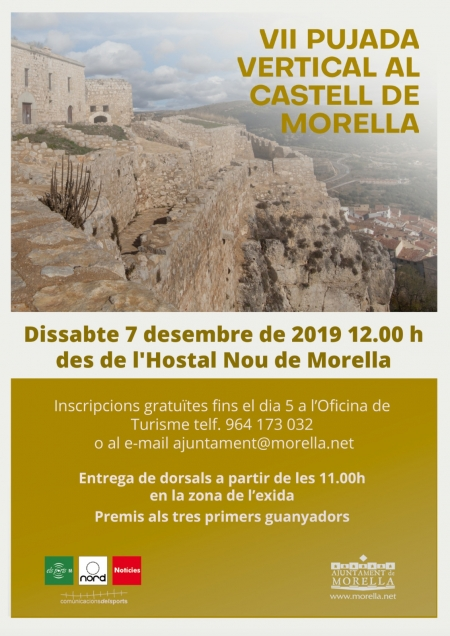 VII Subida vertical al Castell de Morella