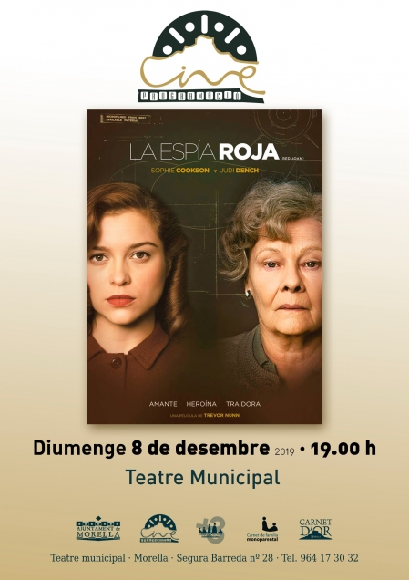 """Cinema: """"La Espía Roja"""" - Morella"""