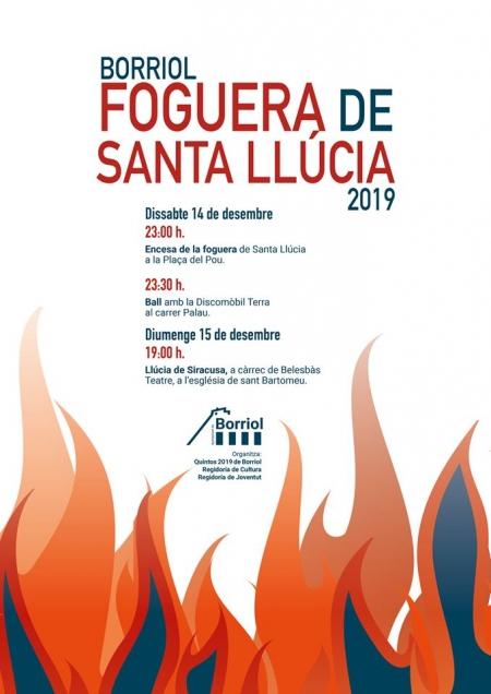 Hoguera de Santa Lucía - Borriol