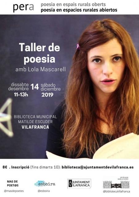Taller PERA: Poesía en espacios rurales abiertos- Vilafranca