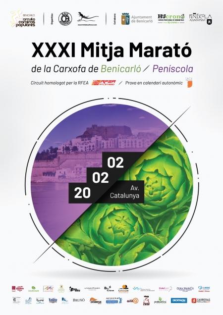 XXXI MEDIA MARATÓN DE LA ALCACHOFA BENICARLO - PEÑISCOLA