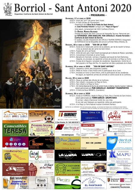 Festes de Sant Antoni - Borriol