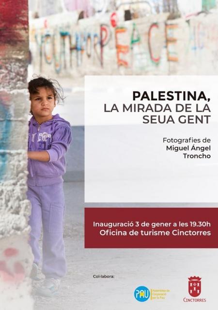 """Exposición: """"Palestina, la mirada de la seua gent"""". - Cinctorres"""