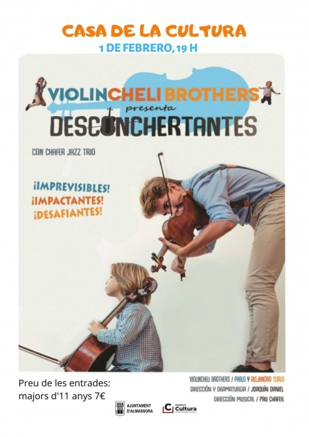 Concert infantil de Violincheli Brothers - Almassora
