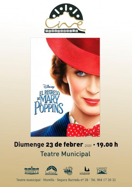"""Cine: """"El regreso de Mary Poppins"""" - Morella"""