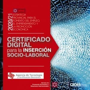 Taller ON-LINE - Certificat Digital per a la inserció Soci-Laboral