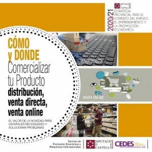 Taller - Cómo y dónde comercializar tu producto: distribución, venta directa, venta on-line