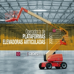 Taller - Operador/a de Plataformes elevadores articulades