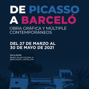 Exposició: 'DE PICASSO A BARCELÓ: Obra gràfica i múltiple contemporanis'