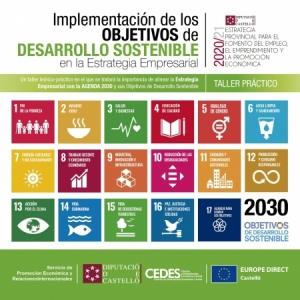 Taller - Implementació dels Objectius de Desenvolupament Sostenible en la Estratègia Empresarial