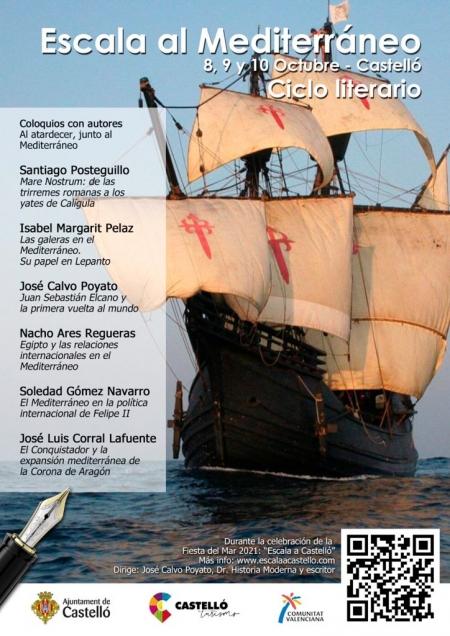 Ciclo literário: Escala al Mediterráneo