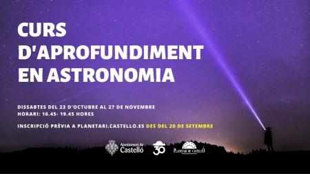 Curs d'aprofundiment en astronomia