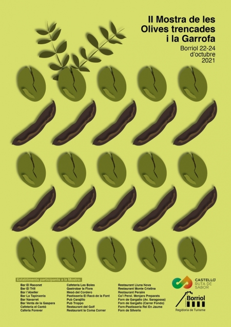 II Mostra dels Olives trencades i la Garrofa de Borriol