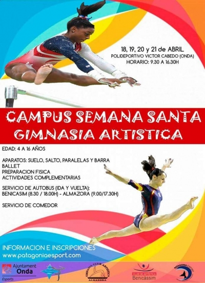 Campus Semana Santa Gimnasia Artística - Onda