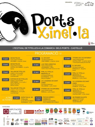 Ports Xinel.la: I Festival de titelles a la comarca de Els Ports