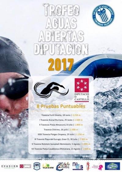 VII Travesía Platja Casablanca d´Almenara: Trofeo Aguas Abiertas Diputación de Castellón