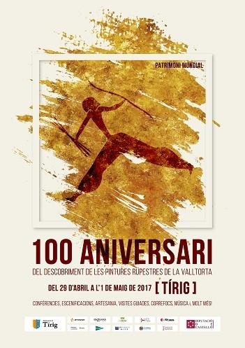 100 Aniversari del descobriment de les pintures rupestres de la Valltorta – Tírig
