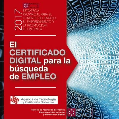 Certificado Digital para la búsqueda activa de empleo - Vinaròs