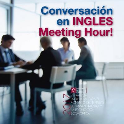 Conversa en Anglès. Meeting hour - La Pobla Tornesa