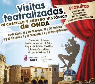 Visitas Teatralizadas al Castillo y Centro Histórico de Onda