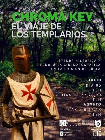 """CHROMA KEY """"El viaje de los Templarios"""" - Culla"""