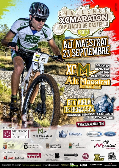 XC Maraton Challenge Individual Alt Maestrat 2017 (Benassal)