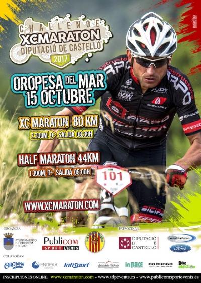 XC Maraton Challenguer Oropesa 2017