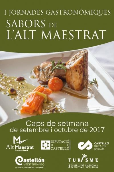 "I Jornadas Gastronómicas ""Sabors de l'Alt Maestrat"""