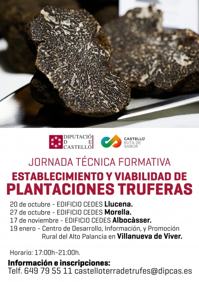 Jornada Técnica Formativa: Plantaciones Truferas