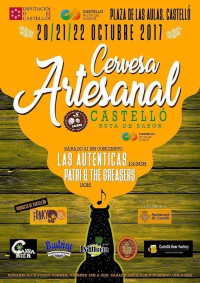 I Feria de la Cerveza Artesanal Castelló Ruta de Sabor (Castellón)