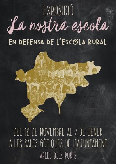 Exposición: Nuestra escuela. En defensa de la escuela rural (Vilafranca)
