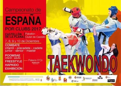 Campeonato de España Clubs de Taekwondo (Castellón)