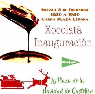 Xocolatà Inauguración Carpa Plaza España (Castellón)