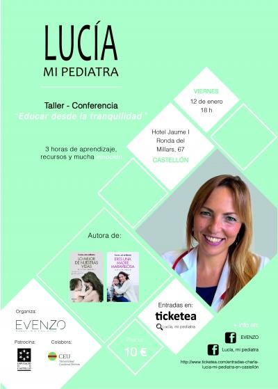 Taller - conferencia: Educar desde la tranquilidad (Castellón)